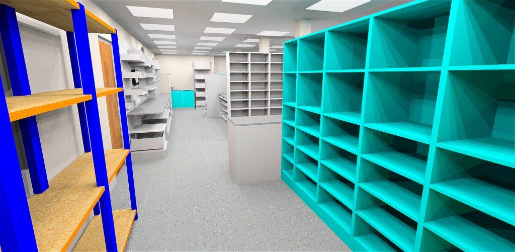St Bernards Hospital - Ealing - 3D visual C - view A